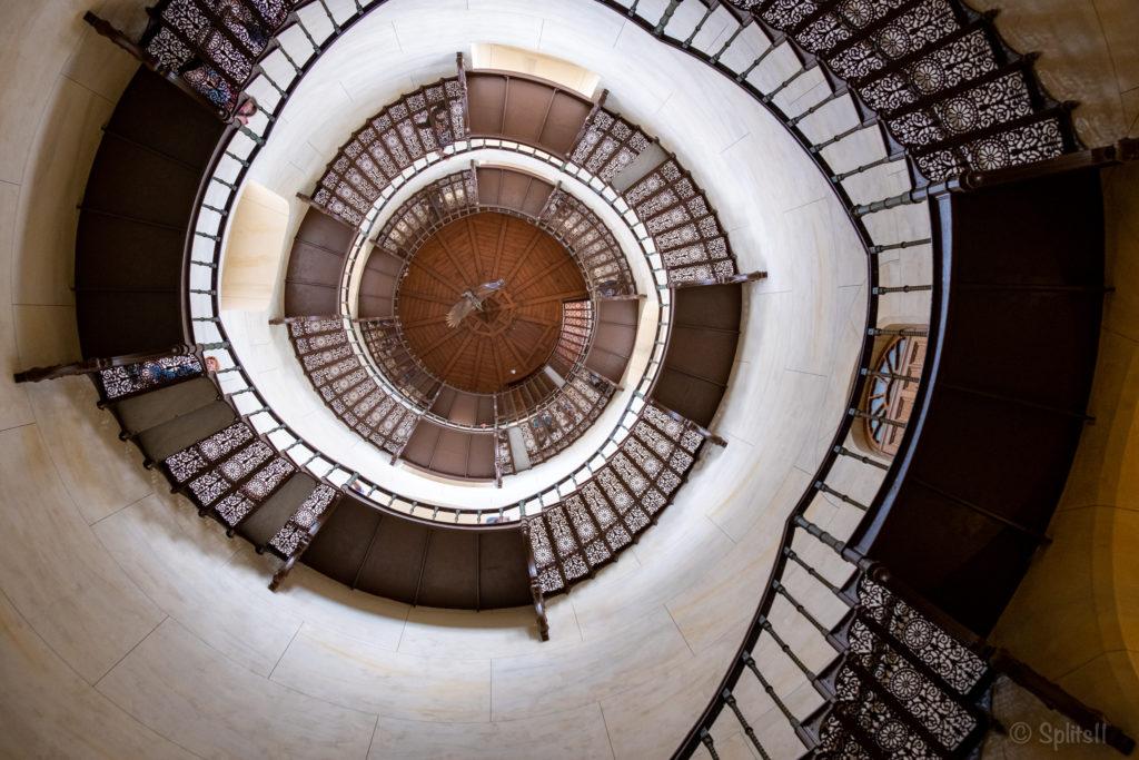Jagdschloss Granitz - Turmaufgang innen