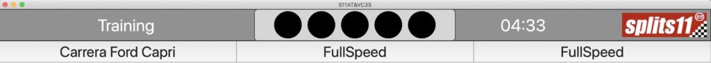 S11AT&VC3S-Fahrzeug ausgewählt