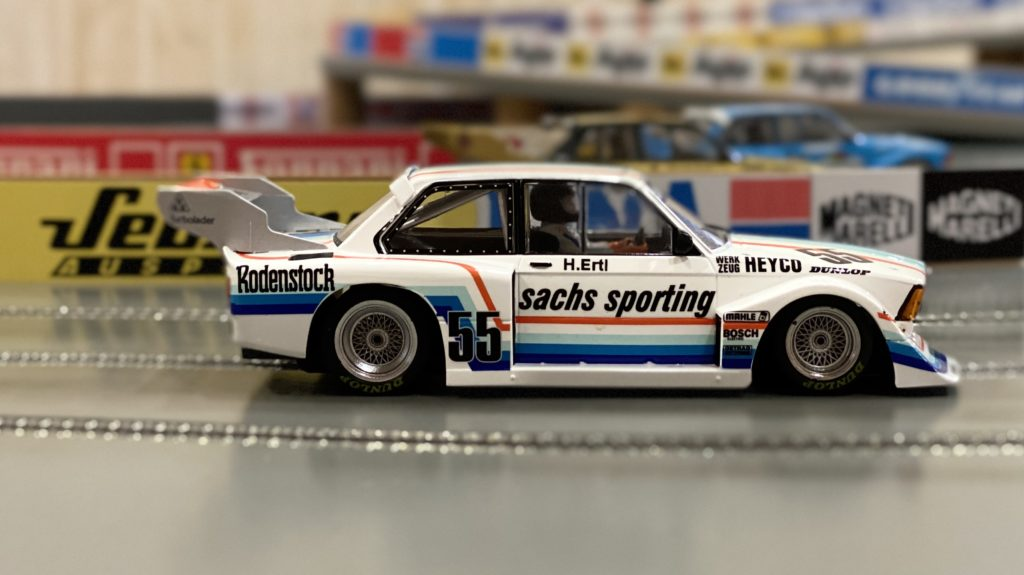 Sideways BMW 320 Gr. 5 Sachs Sporting Team